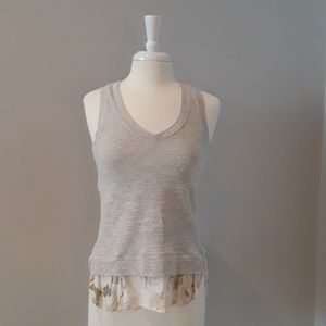 Anthropologie V-neck Tank